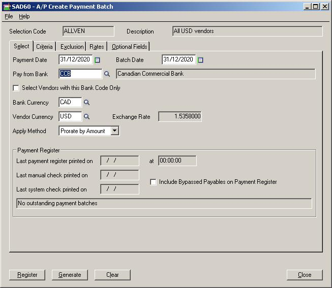 Generate AP Payment Advice in 5 simple steps